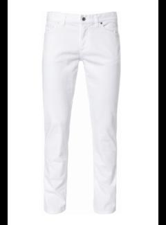Alberto Jeans Pipe Regular Slim Fit T400 Wit (4817 - 1975 - 100)N