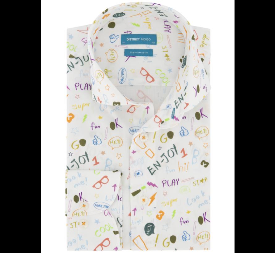 Overhemd En-Joy Wit (7.02.025.003.307)