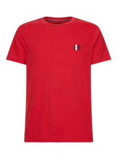 Tommy Hilfiger T-shirt Modern Fit Badge Rood (MW0MW13327 - XLG)