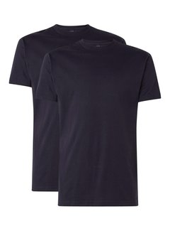 Alan Red T-shirt Virginia 2-Pack Ronde Hals Navy (3129)