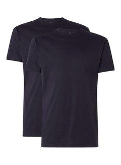 Alan Red T-shirt Virginia 2-Pack Ronde Hals Navy (3129)