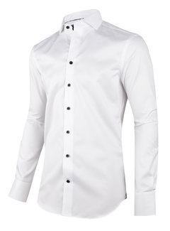 Cavallaro Napoli Overhemd Modono Wit (110205021 - 100000)