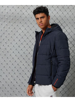 Superdry Winterjas Sports Puffer Navy (M5010227A - JYC)