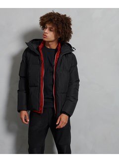 Superdry Winterjas Evolution Puffer Zwart (M5010334A - 02A)