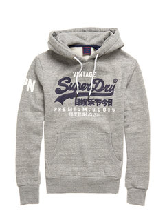 Superdry Hooded Sweater Logo Grijs (M2010494A - 07Q)