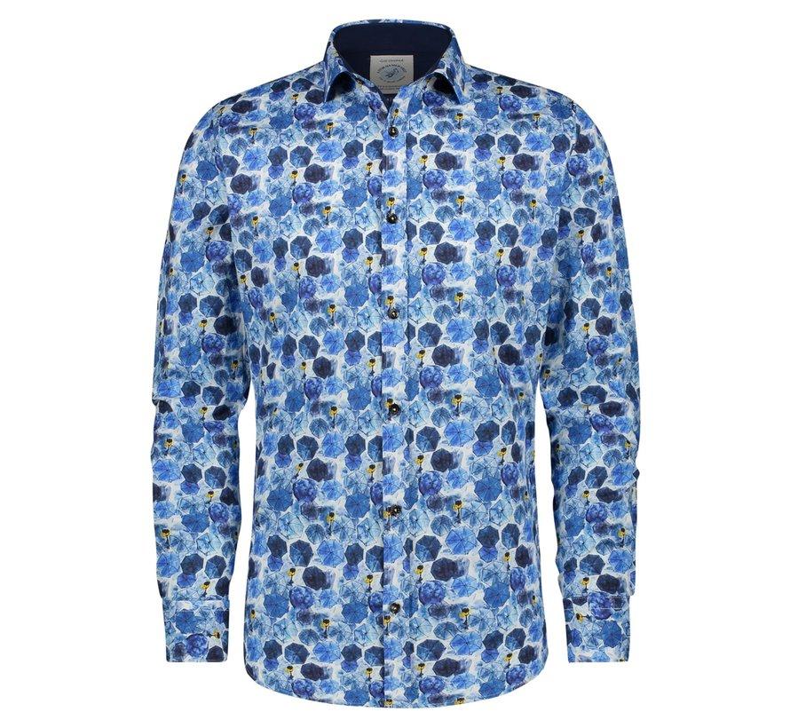 Overhemd Umbrellas Blue (21.01.011)