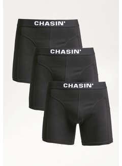 CHASIN' Boxershorts 3Pack THRICE BBB Zwart (9U00.400.037 - E90)