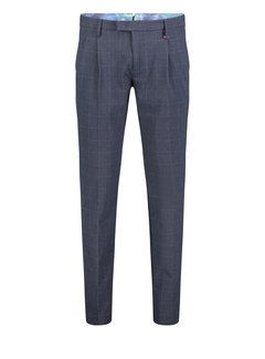 Mac Chino Lennox 196K Nautic Blue Check (6344-00-0703L)