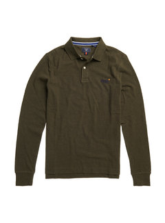Superdry Longsleeve Polo Classic Pique Khaki (M1110093A - 4EP)