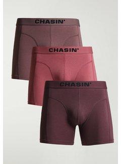 CHASIN' Boxershorts 3Pack THRICE CAMDEN Roze (9U00.172.114 - E46)