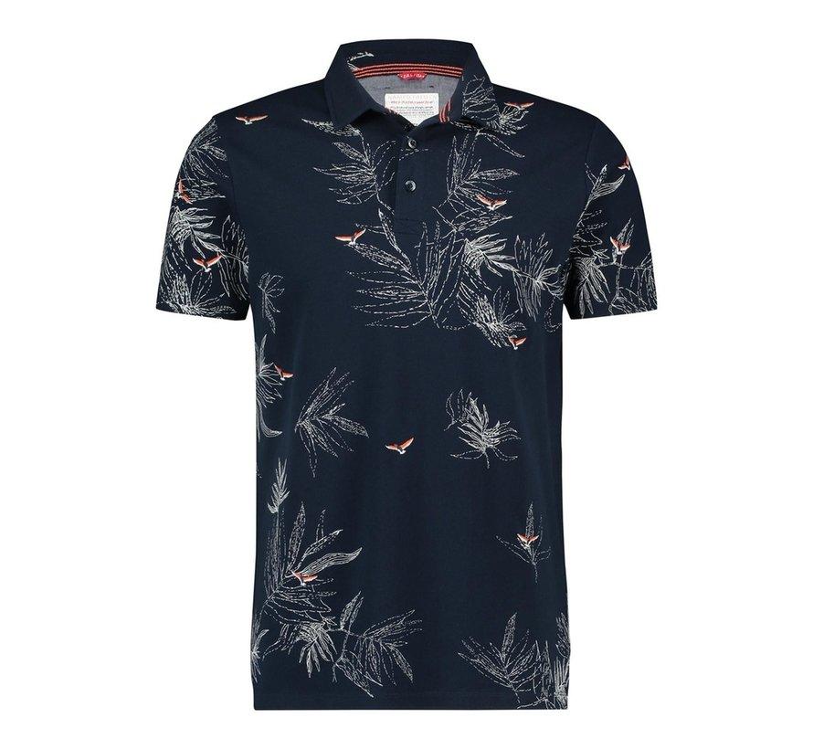 Polo Embroidery Bird Navy (20.03.321)