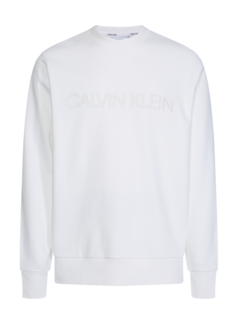 Calvin Klein Sweater Wit (K10K105150 - YBS)