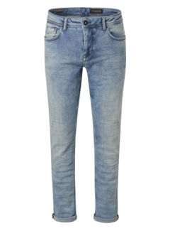 No Excess Jeans 711 Slim Fit Stretch Bleached Blauw  (N711D68)