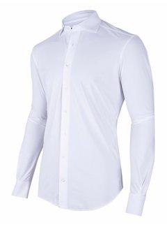 Cavallaro Napoli Overhemd Tech Performance White (110205043 - 100000)