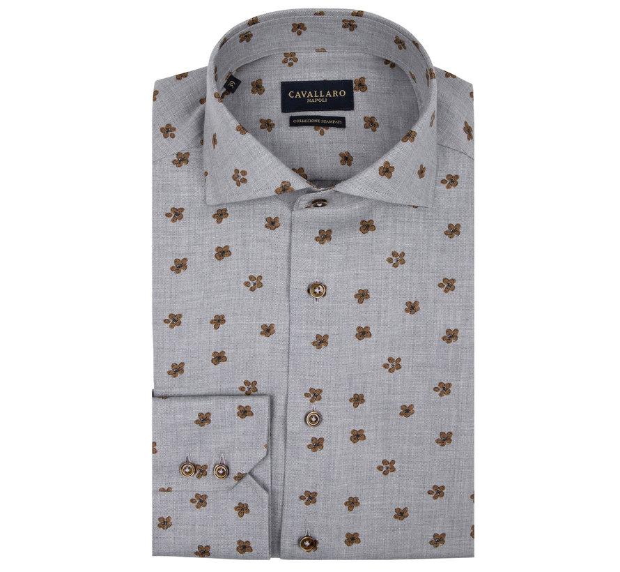 Overhemd Ferrano Print Grijs (110205035 - 950005)