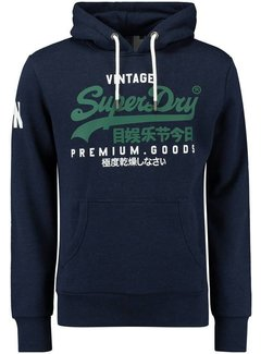 Superdry Hooded Sweater Logo Navy (M2010494A - 4AY)