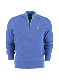 New Zealand Auckland Half Zip Trui Coromandel Air Blue (20MW470 - 309)