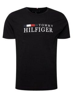 Tommy Hilfiger T-shirt Zwart (MW0MW11795 - BAS)