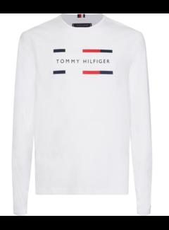Tommy Hilfiger Longsleeve T-shirt Wit (MW0MW11807 - YAF)