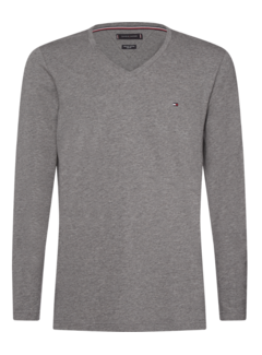 Tommy Hilfiger Longsleeve T-shirt Grijs (MW0MW11816 - P9W)
