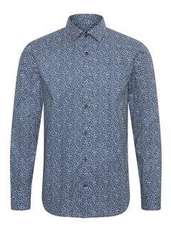 Matinique Overhemd Trostol B1 Print Blauw (30205114 - 194044)