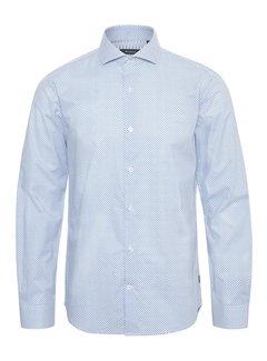 Matinique Overhemd Trostol BC3 Print Licht Blauw (30205129 - 194044)