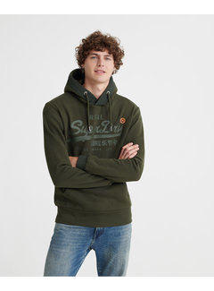 Superdry Hooded Sweater Army Groen (M2000138A - LO3)