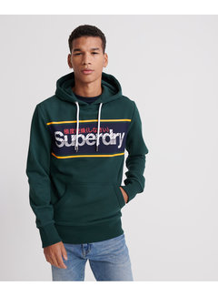 Superdry Hooded Sweater Groen (M2010073A - XO9)