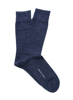 Profuomo Sokken 1Pack Wool Solid Blauw (PP2Z00007E)