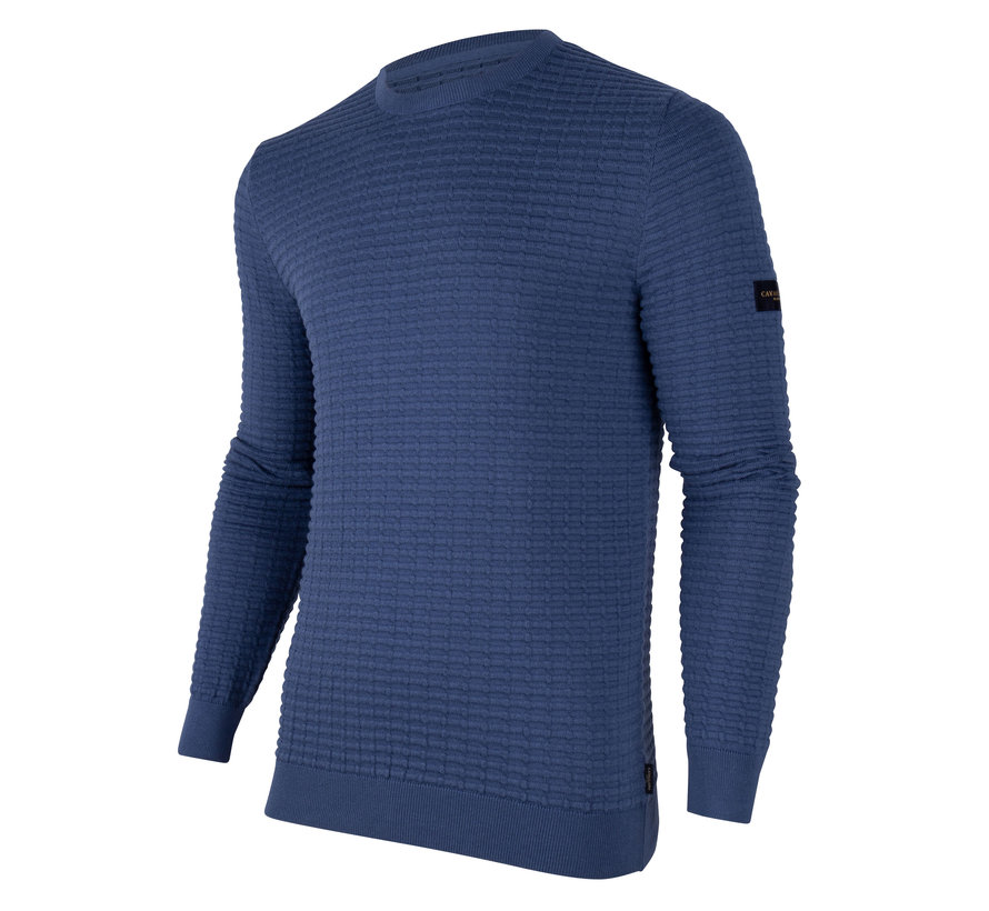 Pullover Paolo Structuur Blauw (118206000 - 650000)