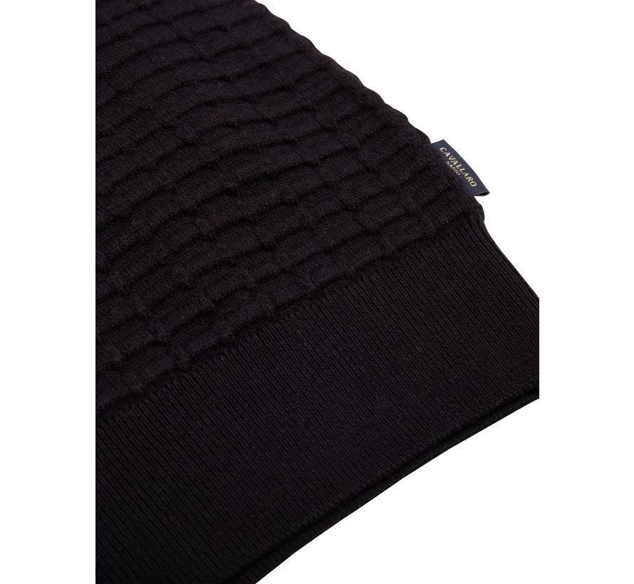 Pullover Paolo Structuur Zwart (118206000 - 999000)