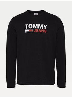 Tommy Hilfiger T-shirt Lange Mouwen Zwart (DM0DM09487 - BDS)