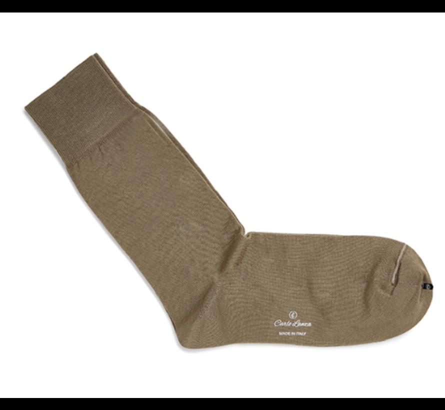 Sokken Katoen Camel (100-281)