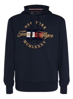 Tommy Hilfiger Hooded Sweater Icon Artwork Navy (MW0MW10064 - 403)