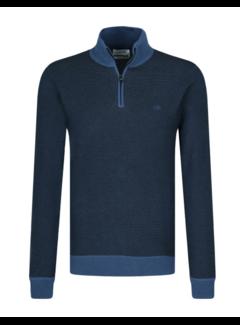 Calvin Klein Half Zip Sweater Navy (K10K106359 - CEC)