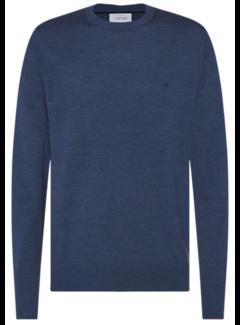 Calvin Klein Pullover Ronde Hals Blauw (K10K102727 - C4Q)