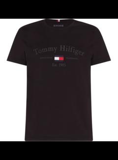 Tommy Hilfiger T-shirt Zwart (MW0MW15320 - BDS)
