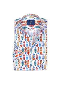 R2 Amsterdam Overhemd korte mouw (105.HBDSS.021 - 073)