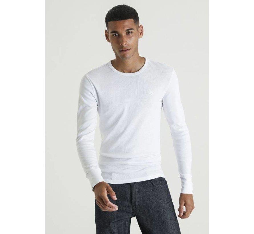 Longsleeve T-shirt Damian Wit (5111.213.002 - 010)