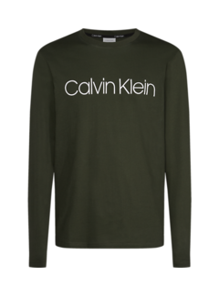 Calvin Klein Longsleeve T-shirt Logo Army (K10K104690 - MRZ)