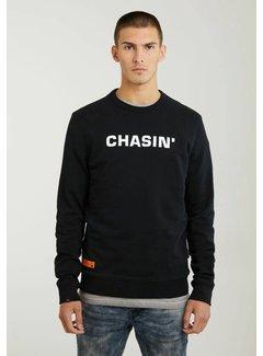 CHASIN' Sweater Duell Sweat Zwart (4111.219.114 - E90)