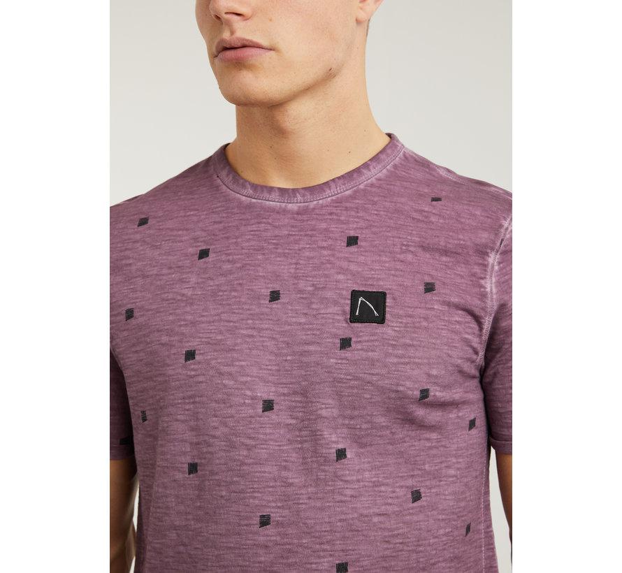 T-shirt Ronde Hals BARUCH Burgundy Rood (5211.213.130 - E41)
