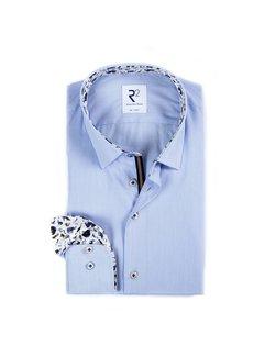 R2 Amsterdam Overhemd Streep Blauw (110.HBD.041 - 018)