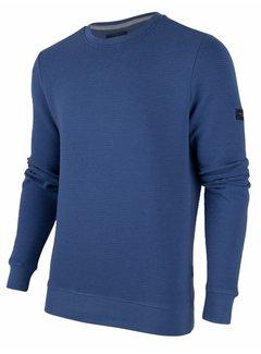 Cavallaro Napoli Sweater Mauro Structuur Blauw (120206000 - 650000)