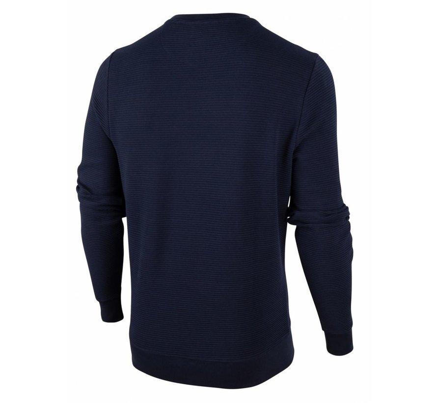 Sweater Mauro Structuur Navy Blauw (120206000 - 699000)