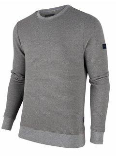Cavallaro Napoli Sweater Mauro Structuur Licht Grijs (120206000 - 900000)