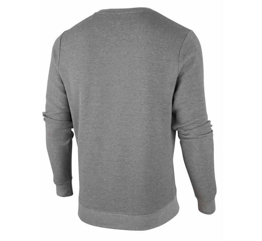 Sweater Mauro Structuur Licht Grijs (120206000 - 900000)
