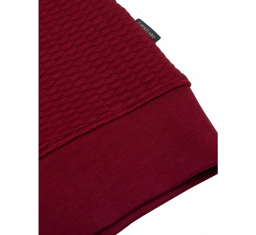 Sweater Nero Structuur Rood (120206001 - 499000)