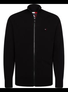 Tommy Hilfiger Vest Flex Zip Trough Zwart (MW0MW13121 - BDS)