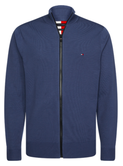 Tommy Hilfiger Vest Flex Zip Trough Blauw (MW0MW13121 - C9T)